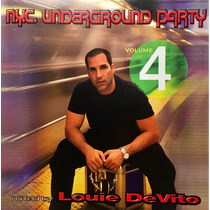 Cd Nyc Underground Party Vol 4 Louie Devito Mixed By