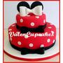 Torta Minnie Cupcakes Minne Cookies