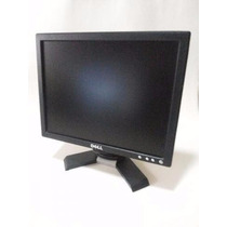 Monitor Dell Lcd 15 Polegadas Cabo Vga + Cabo De Força