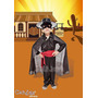 Disfraz El Zorro Completo! Licencia Original Candela Jiujim