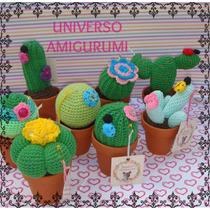Cactus Amigurumis Tejidos A Crochet, Cactus Coloridos!