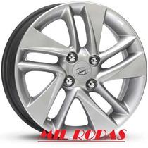 Roda Aro 14 Hyundai Hb 20 - Pintada Prata