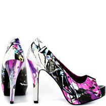 Zapatillas Love Shock Plataformas Iron Fist 2013