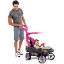 Mini Veículo Smart Baby Comfort Rosa - Bandeirante 521