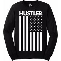 Blusa Moletom Hustler - Sem Flanela - Bandeira Eua Usa Swag