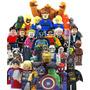 Coleccion Sw2 De 32 Super Heroes Compatible Con Lego