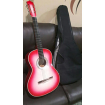 Guitarra Clasica Acustica Nueva Con Forro