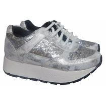 Zapatillas Nuevas De Brillos O Glitters Para Nena O Niña