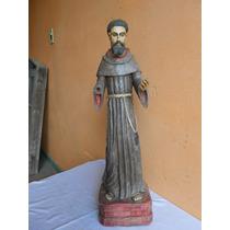 São Francisco Antigo.santo Antigo.arte Sacra.oratório Antigo