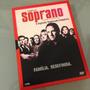 Familia Soprano 2ª Temp - 4 Dvd´s - Seriado - Raro