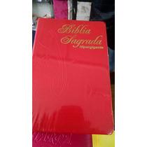 Bíblia Sagrada Hipergigante Indice - Capa Luxo Emborrachada