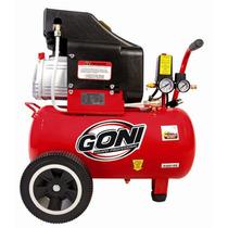 Compresor Goni 2.5hp. Tanque 25 Lt Herramienta Goni