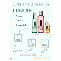Clinique Sistema 3 Pasos 1000% Original