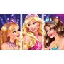 Barbie - Cuadros Trípticos Modernos