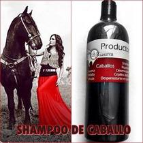 Shampoo De Caballo Para Uso Humano Muy Recomendable