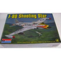 Avión F-80 Shooting Star Esc. 1/48 Monogram Nuevo!!