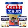 Combo Látex Casablanca Classic 20lts + 4 Enduido Y Fijador