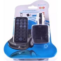 Transmissor Veicular Fm Usb Sd Bluetooth Exclusivo 1ª Linha