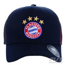 Boné Adidas Bayern Trucker - Futfanatics