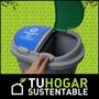 Tacho Cesto Doble División Reciclaje Colores Basura Tachos