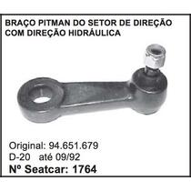 Braço Pitman Do Setor De Direção Hidraulica D-20 Chevrolet