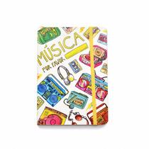 Cuaderno De Autor Música Por Favor Por Vik Arrieta 12x17 Cm