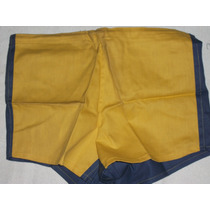 Pantalon De Boca Años 70 Mitad Azul Y Amarillo Talle46