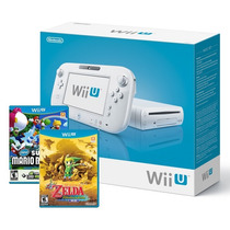Nintendo Wii U Wiiu Basic Set 8gb + 3 Jogos Original E-sedex