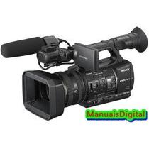 Manual Em Português Da Filmadora Sony Hxr-nx5 Com Imagens.