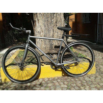 Bicicleta Fixie Equipada Urbana, Única De Remate, Barata