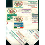 Mexico 1966 Olimpiadas 68 Sobres Con Timbres Set Cpl