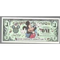 Billete De Disney 1 Dolar Series 2000