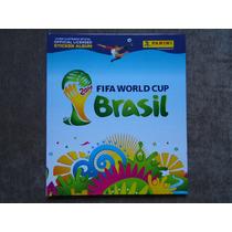 Álbum Copa Mundo 2014 Panini Completo + Fuleco Brinde