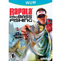 Rapala Pro Bass Fishing - Jogo De Pesca Para Wii U