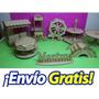 Candy Bar 8 Productos Mdf Fibrofacil Somos Fabrica !!