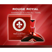 Perfume-marina De Bourbon-rouge Royal 100ml-100% Original
