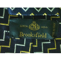 Gravata Brooksfield 100/ Seda Made In Italy