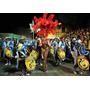 Carnaval En Uruguay - Candombe Tamboriles - Lamina 45x30cm.