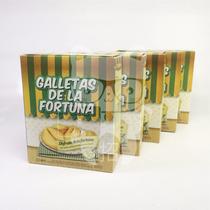 60 Galletas De La Fortuna Galletitas 5 Estuches