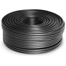 1 Piezas Cable Coaxial Rg6 Rollo 100 M Sanelec