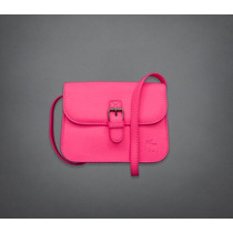 Bolsa Abercrombie & Fitch Pink Tiracolo 100% Original