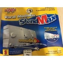Varal Modular Recolhe Automático - 3 Pçs Com 6,0 Metros Cada