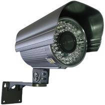 Câmera Segurança Infravermelho 720 Linhas 72 Leds Até 60mts