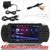 Video Game Portátil Multimedia Player 4gb Mp5 Versão 2014