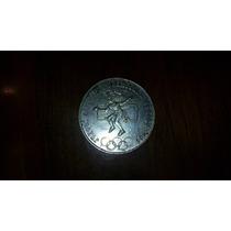 Moneda Antigua Plata Juegos Olímpicos México 1968