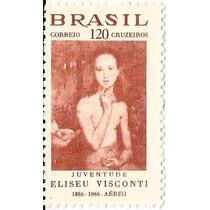 Brasil-selo Aereo Nº 110y-marmorizado Sem Goma