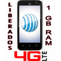 Telefono Zte Maven 8gb 1gb Ram Android 5.1 Quad Core 4g Lte