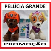 6 Patrulha Canina Grande Pelúcias Musical No Brasil