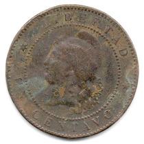 Moneda Argentina 1 Centavo De Patacón Año 1886.muy Difícil