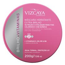 Brilho + Vitaminas Extra Brilho Vizcaya - Máscara 200g